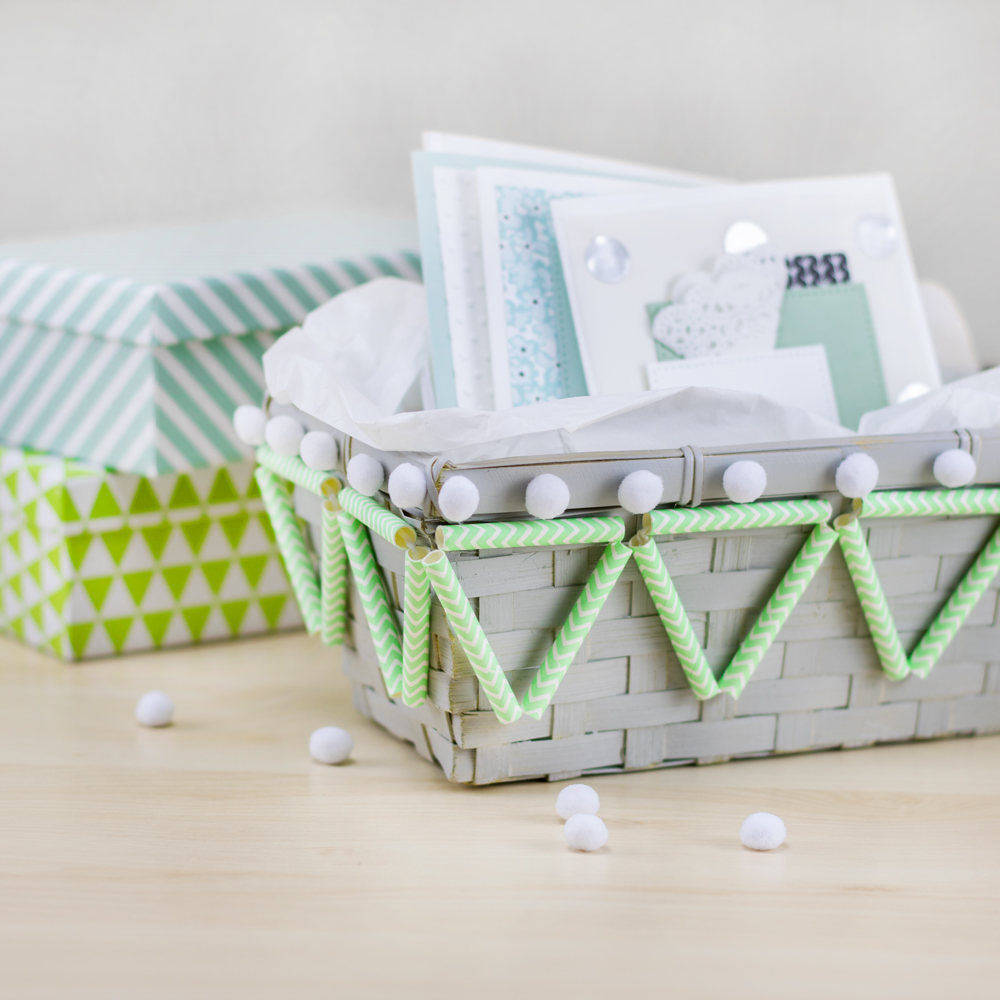 Koerbe Papierstrohhalmen DIY Blog kreativliebe