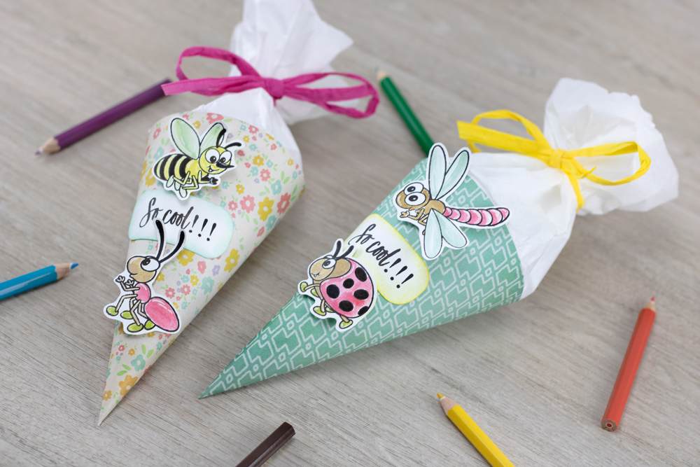 Mini Schultüte Für Schulanfänger Kreativliebe