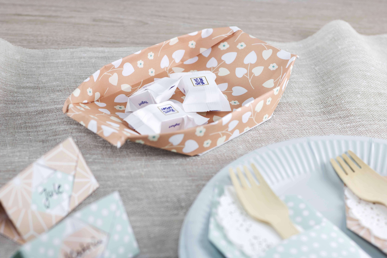 Origami Kreativliebe Schale aus Papier