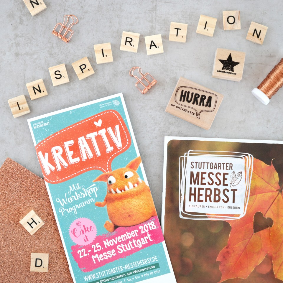 Die KREATIV Messe im Herbst 2018: Ein Muss für alle Bastler und DIY-Liebhaber!