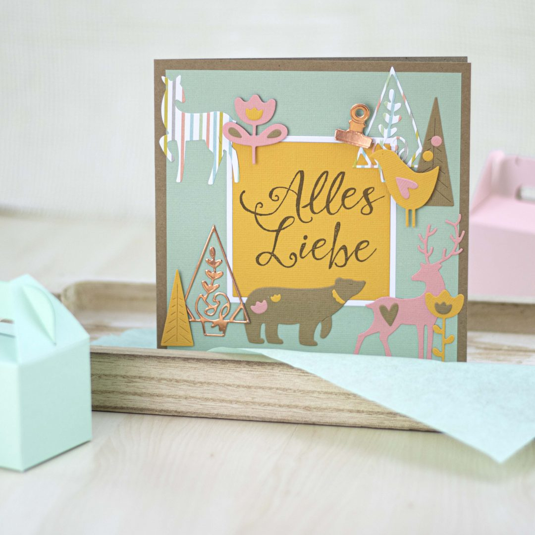 Sizzix Sommer Style Grusskarte
