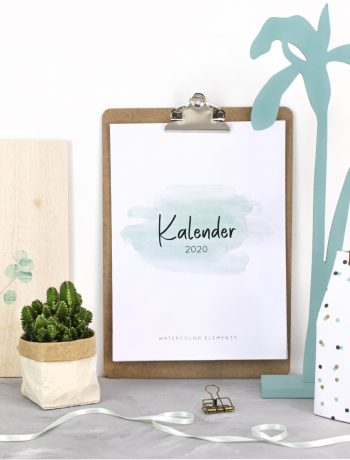 Kalender Watercolor
