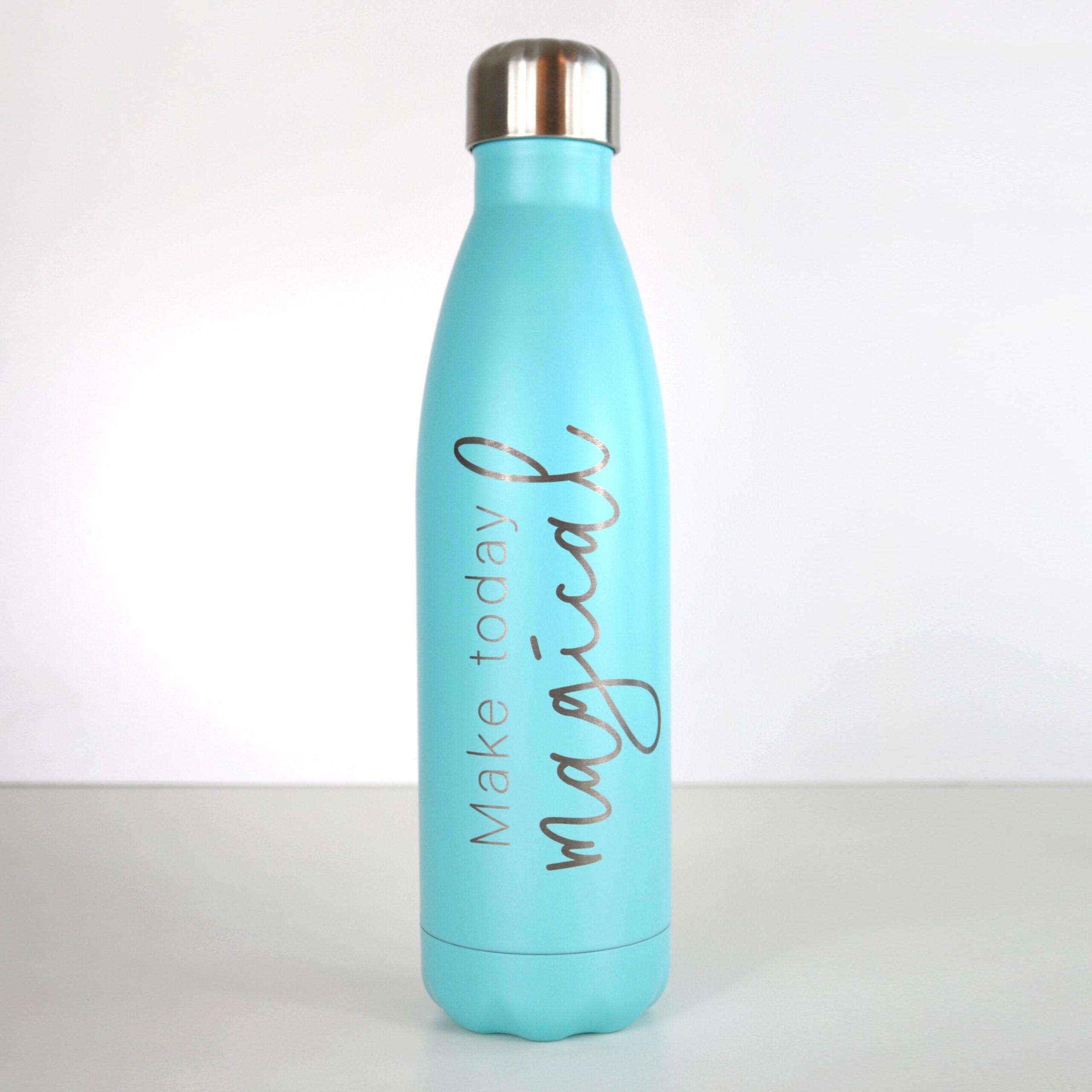 Gravierte Thermosflasche aus Edelstahl mit Gravur
