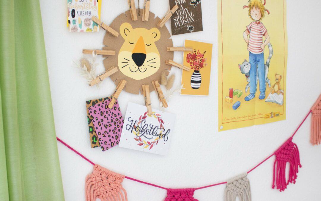 Löwenstarke DIYs zum Weltkindertag
