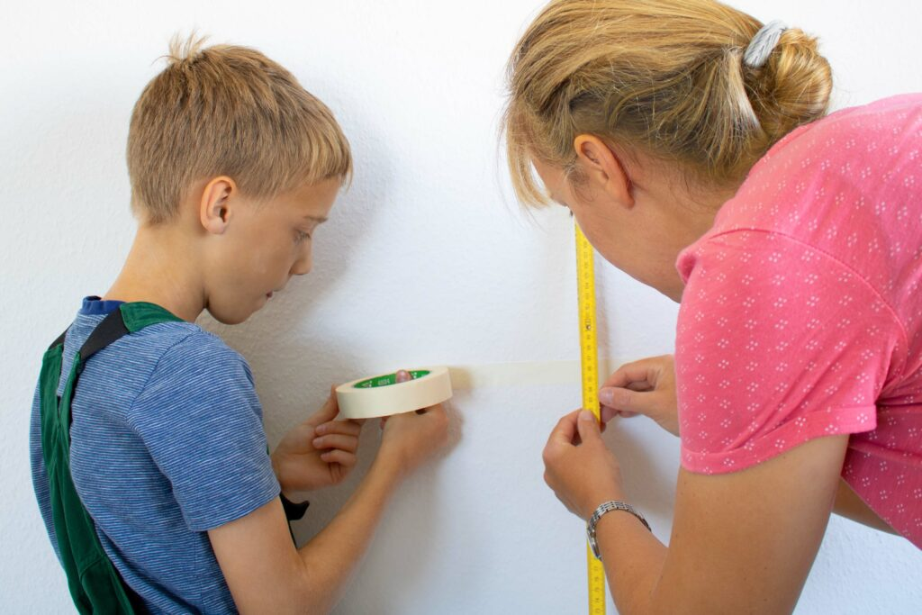 Wandgestaltung im Kinderzimmer