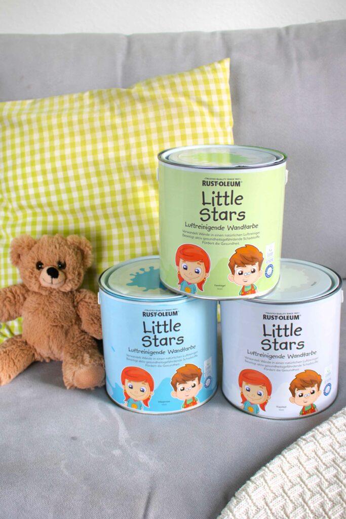 Little Stars Rust Oleum Wandfarbe